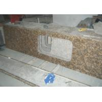 Quality Baltic Gold Granite Stone Slab Countertop Solid Surface Vanity Tops For Bathroom wholesale