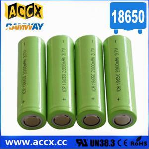 Cheap li-ion 18650 1800mah 2000mAh 2200mAh 2600mAh for led light, torch 3.7v lithium battery for sale