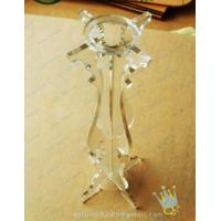 Quality CH (51) bubble Acrylic candle holder wholesale