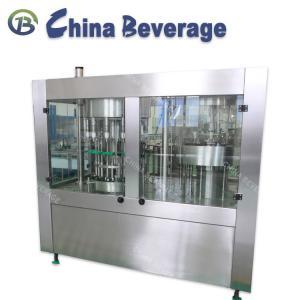 China Washing Sealing Drinking Water Filling Machine 3 In 1 Monoblock Normal Pressure on sale