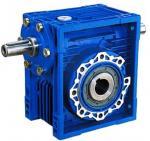 Quality 75:1 Ratio High Efficiency / Torque NRV Series Worm Gear Reduction Box 1400Rpm wholesale