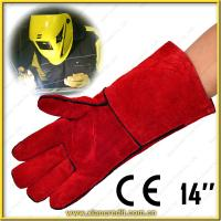 Quality leather welding glove wholesale