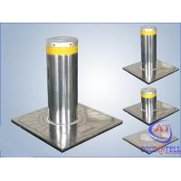 Quality Custom Manual Hydraulic Security Bollards , Stainless Steel Automatic Road Blocker wholesale