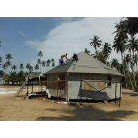 China Light Steel Roof Truss Prefab Bench Hotel / Island Resort Beach Overwater Bungalow on sale