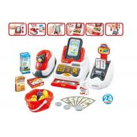 Quality Pretend Children's Play Toys Cash Register With Scanner And Credit Card Machine wholesale