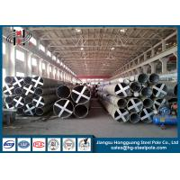 China 30m Q345 Steel Utility Poles for Electric Power Transmission / Distribution Line on sale