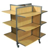 Quality Wooden Free Standing Display Stands / clothes display stand  For Shop wholesale