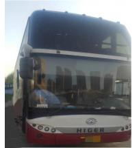 Quality Higer 51 Seats Used Tour Bus International Standard Emission Euro III wholesale