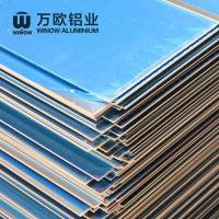 Quality Metal Alloy Flat Aluminum Plate 600 - 2280mm Width High Strength For Construction wholesale