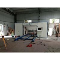 Quality Horizontal CNC Foam Cutting Machine With Oscillating Blade Adjustable Speed for Special Shape Sponge wholesale