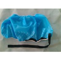 China Anti Static Safety Non Slip Disposable Shoe Covers Conductive Strip For Laboratory on sale