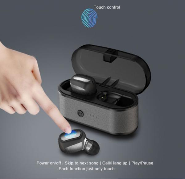 Wireless Bluetooth earphones XG-60S with wireless charging box