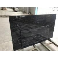 Quality High Strength Jet Black Solid Granite Worktops For Residental Appartment wholesale