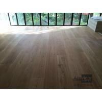 Bespoke 20/6 x 300 x 2200mm AB grade wide White Oak Engineered Flooring for Singapore Villa Projects
