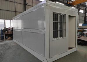 China Mgo Floor ISO Folding Steel Prefabricated Houses on sale