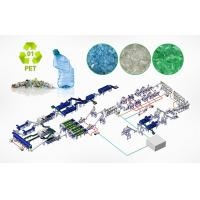 Buy cheap Waste Plastic Film Recycling Machine Washing And Granulation Machine ISO9001 from wholesalers