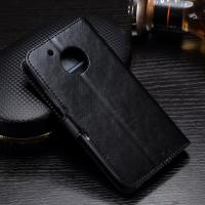 Quality Crazy Horse G5 Motorola Leather Case Handmade Light Weight Anti - Dirty Lining wholesale