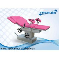 China Medical Hydraulic Gynecological Chair For Women With 4 Castor on sale