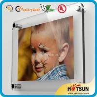 Quality Glass wall mounted acrylic photo frames, acrylic wall mount picture frames wholesale