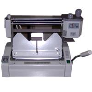 China Desktop Manual Glue Book Binding Machine 460mmWD-460A on sale