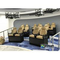 Quality Genuine leather Mobile 5D Movie Theater In Truck Or Trailer Back Poking Effects wholesale