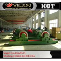 Quality Fit Up And Assembly Pipe Welding Rotator , Manual Adjustable Welding Turning Roller HGK40 wholesale