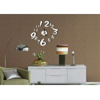 Cheap Large Number Wall Clock Sticker for sale