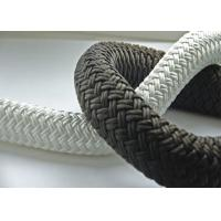 "Cheap high quality 3/8"" Double Braided Nylon Anchor Dock Line Rope for sale"