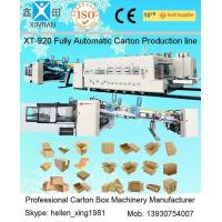 Quality XT-920  2000mm High Speed Automatic Corrugated box Production Line wholesale