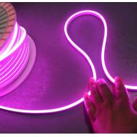 China 12v purple mini flexible neon tube lighting 6*13mm 2835 smd for signs logo on sale