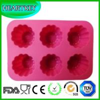 Quality DIY Kitchen Tool Cake Chocolate Cookie Baking Pan Flower Shape Muffin Jelly Cake Mold wholesale