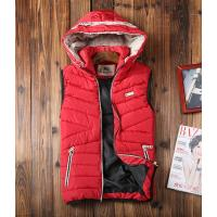 Buy cheap Hotest men's classic designer b-urberry winter 2014 men's wear red waistcoat from wholesalers