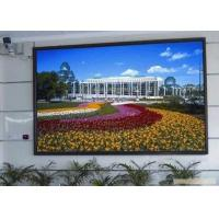China P3 Indoor LED Advertising Displays Led Video Screen With Steel Cabinet for sale