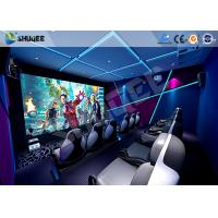 Quality Interactive Truck Mobile 5D Cinema With Special Effect Motion Seat wholesale