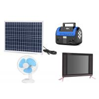 Quality Kenya M Pesa Solar , Pay As You Go Solar Panels Easy Operation With FM Radio wholesale