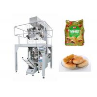 China Automatic Small Pouch Packing Machine For Tarts with Schneider Touch Screen Operation on sale