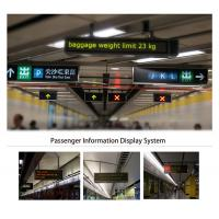 Buy cheap High Intensity Advance Passenger Information System Full Color Auto / Manual Dimming product