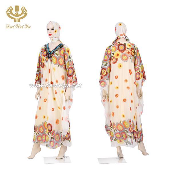 Cheap Latest Design Hijab Rosary Woman Sexy Photo Abaya Dress Kaftan Muslim Prayer for sale