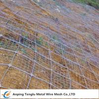 Cheap Rockfall Protection Nets|PVC Coated or Galvanized Hexagonal Wire Mesh for Protection for sale