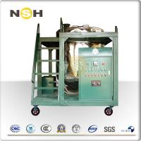 Quality Low Noise Hydraulic Oil Filtration Machine For Engine Oil Treatment Industrial wholesale