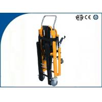 Quality Automatic Caterpillar Stair Stretcher Aluminum Alloy for High Building Wounded Rescue wholesale