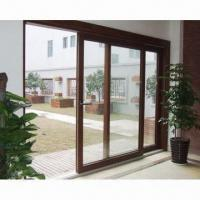 Quality Solid wood sliding window with hardware and glasses wholesale