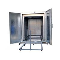Quality Automatic 12kw Powder Coating Oven Insulation With Trolley And Low Power Consumption wholesale