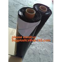 Quality Custom biodegradable agriculture plastic mulch film,tubular roll with black colour for agricultural mulch film BAGEASE wholesale