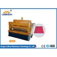Quality Steel Chrome Plated Glazed Tile Forming Machine High Production Long Time Service wholesale