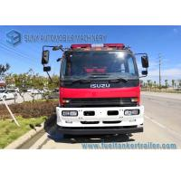 Quality ISUZU 4 x 2 FVR Fire Rescue Vehicles 6000L Water / Foam Tank For Petrochemical Industry wholesale