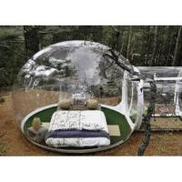 Quality Clear Inflatable Bubble Tent Inflatable Double Stitching Clear Camping Tent wholesale