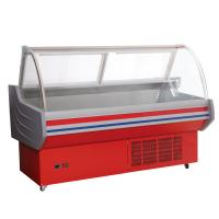 China Deli Display Refrigerator Self Contained Cooling For Fresh Meat on sale
