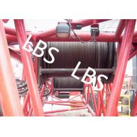 Quality Hydraulic Wire Rope Tower Crane Winch For Architectural Engineering wholesale