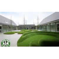 Quality Outdoor nylon golf artificial grass recycling Green / white / red wholesale
